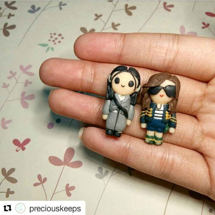 #Repost @preciouskeeps (@get_repost)  Lets look back on the past episodes of my love from the star with these Matteo &amp;  Steffi chibi dolls<br>http://pic.twitter.com/Wa4i8C13BI