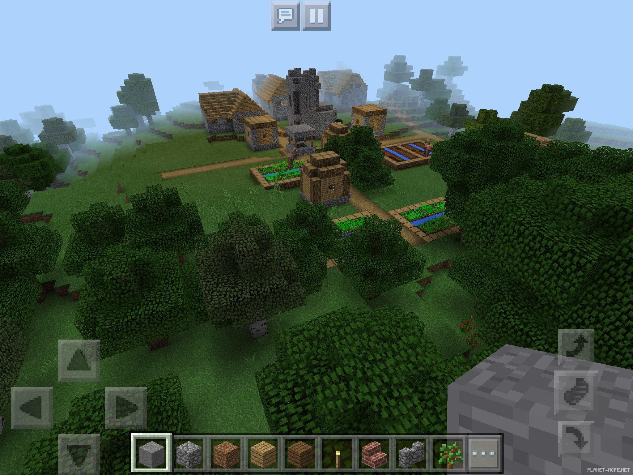 сиды с деревнями на майнкрафт 0.13.0 #7