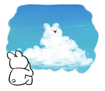 うさぎ雲…