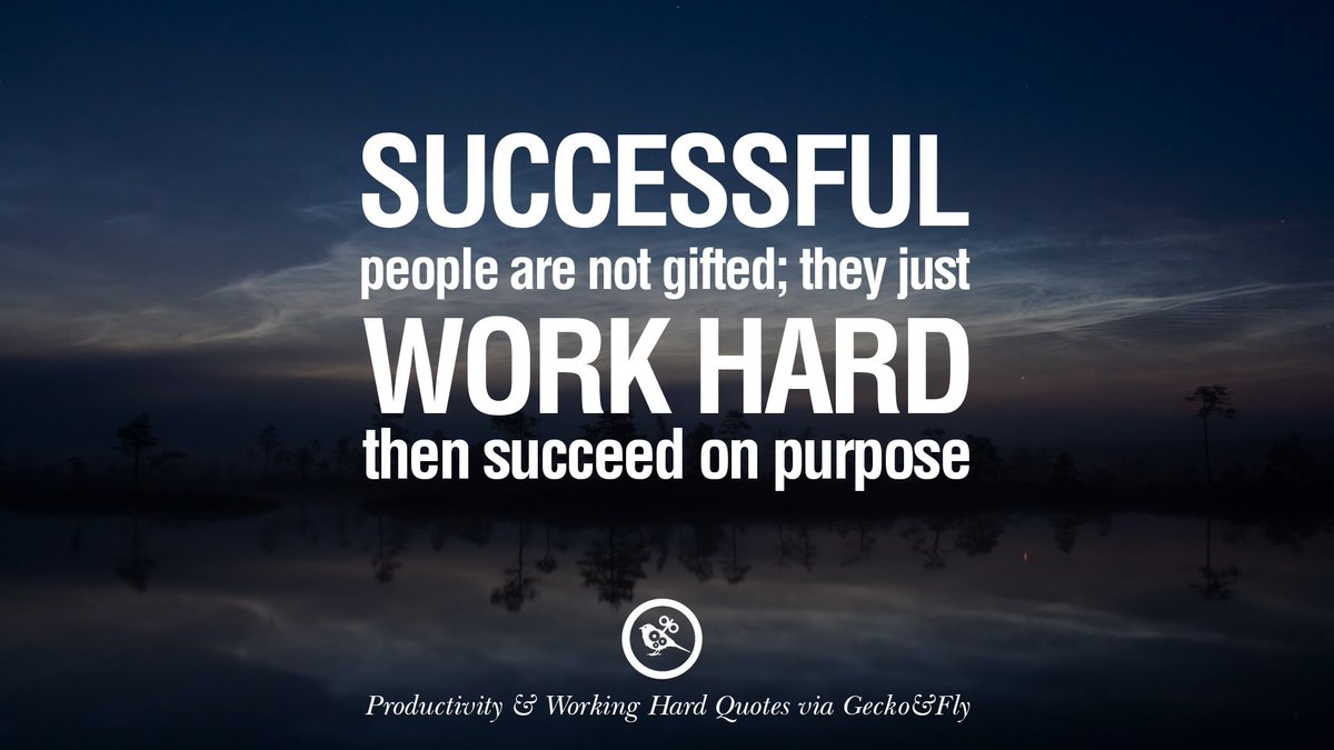 Followupthen On Twitter Successful People Are Not Gifted They