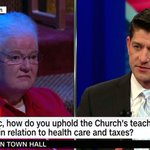 RT @NARAL: Paul Ryan just mansplained to a nun how...