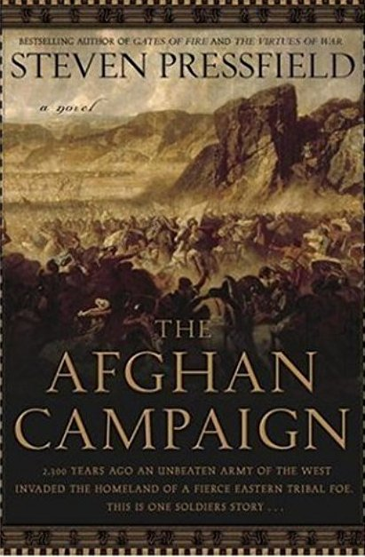 Best book I've read on Alexander in Afghanistan. There needs to be a movie