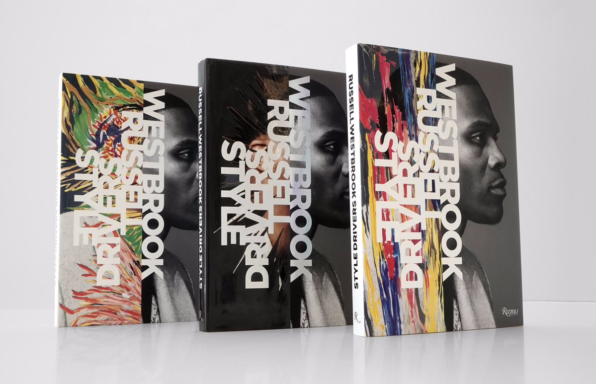 """Russ reveals covers for his upcoming book """"Russell Westbrook: Style Drivers"""" https://t.co/0KwL5qDgYU"""
