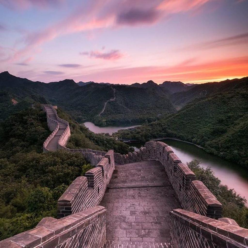 Now that&#39;s what we call a sunset. #Regram from @julien_folcher #ThatsBeijing  http:// ift.tt/2g0Ze7M  &nbsp;  <br>http://pic.twitter.com/d83dgL1rpl