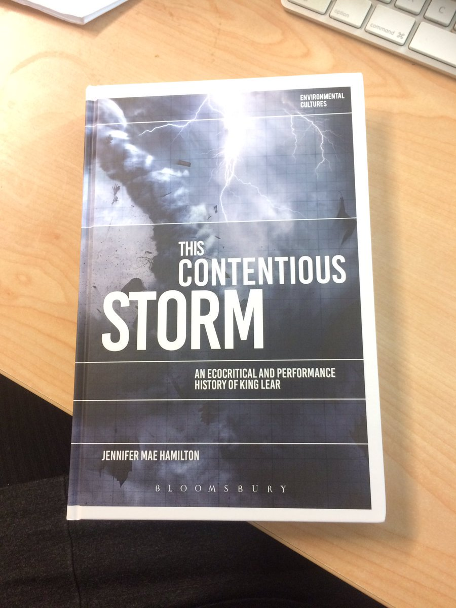 My book is avail. #openaccess here:  https://www. bloomsburycollections.com/book/this-cont entious-storm-an-ecocritical-and-performance-history-of-king-lear/ &nbsp; …  (it&#39;s about storms, #shakespeare, shame, death, shelter, performance, spectacle)<br>http://pic.twitter.com/taG0wSxoos