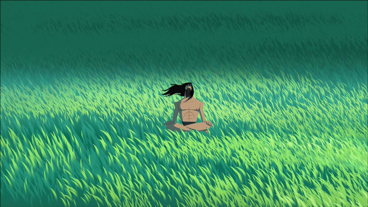 'Samurai Jack' is probably the most beautiful, inventive cartoon ever: https://t.co/a11SAo6gqD
