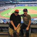 As Trump announces his expansion of the war, I escape to a Mets game w/ Bill Maher where we met with our sleeper cell