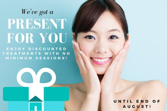 You can avail our treatments at a #DISCOUNTED price with #NO MINIMUM SESSIONS REQUIRED! FOR THIS MONTH ONLY! Message us for inquiries!<br>http://pic.twitter.com/HzspvIndcH