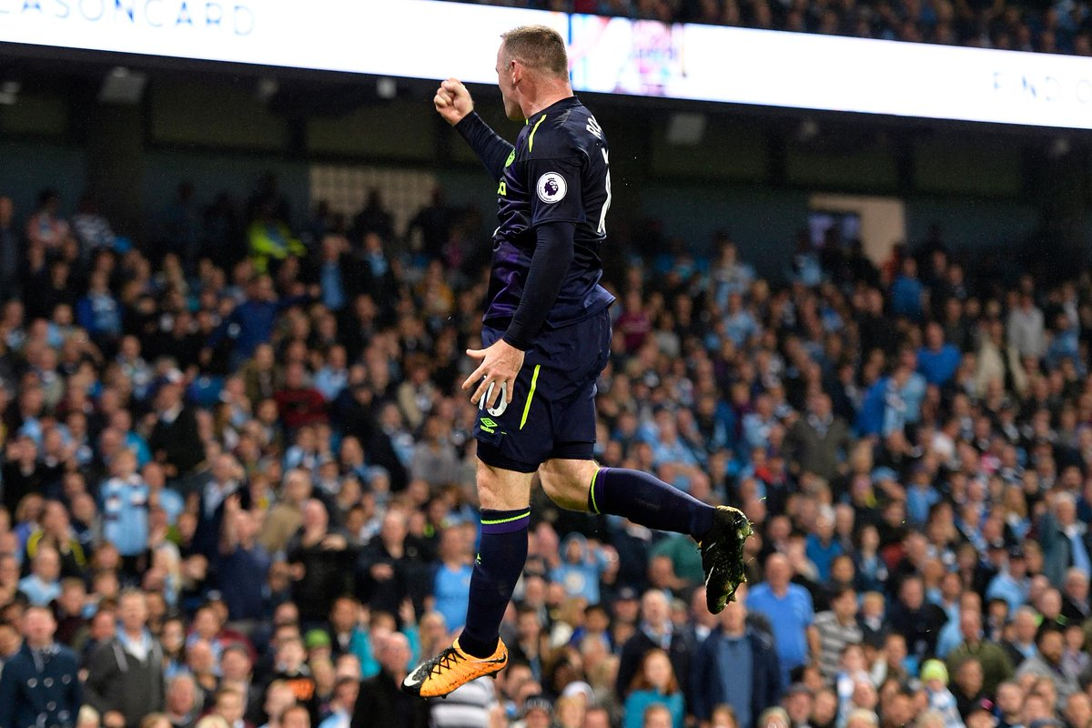Wayne Rooney's 50th, 150th and 200th #PL goals have all come against Man City #MCIEVE