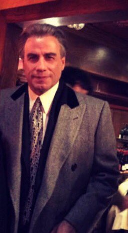 John Travolta as John Gotti in theaters December 15th #Gotti