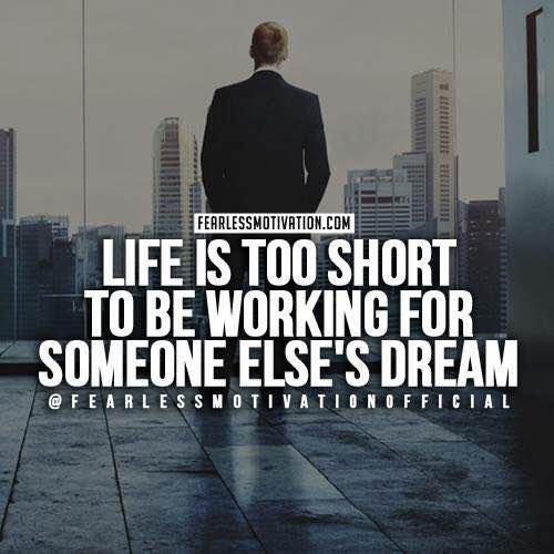 Work for your own #dream  #entrepreneur #Entrepreneurs #Entrepreneurship #Entrepreneurialism #iamrabbihossain #adorsholipi #motivation #work<br>http://pic.twitter.com/gv2sMKftDx