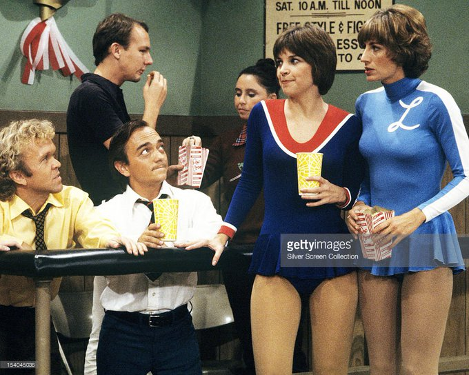 Happy Birthday to Cindy Williams(left) who turns 70 today!