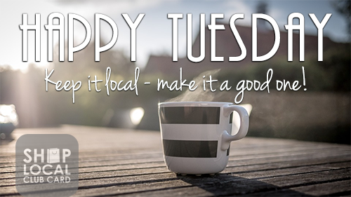 Hello Tuesday:)  Choose to make a difference today; support #localindies they give back more to community. Live Local, Love Local #ShopLocal <br>http://pic.twitter.com/MiTQzs2xjr