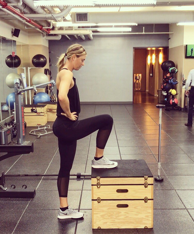 "Maria Sharapova On Twitter: ""New Week, New Grind"