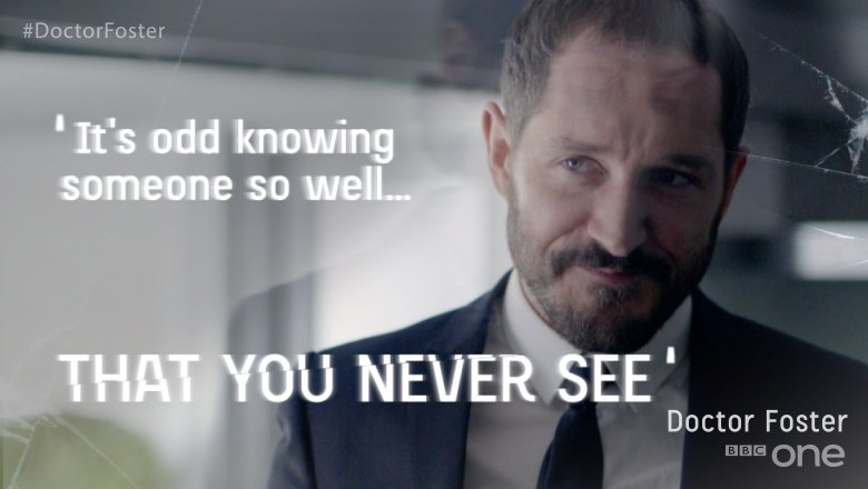 From lovers, to enemies, to strangers with memories. #DoctorFoster https://t.co/T4wTd8Amyn
