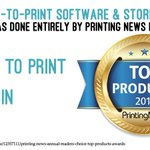 Image for the Tweet beginning: Thank you!!! Printing News' Annual