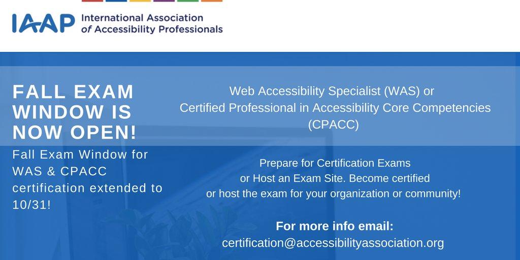 Iaap On Twitter Certification Matters Get Certified Apply Today