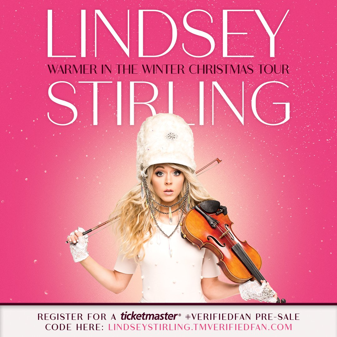 """Lindsey Stirling on Twitter: """"I'm collaborating with ..."""