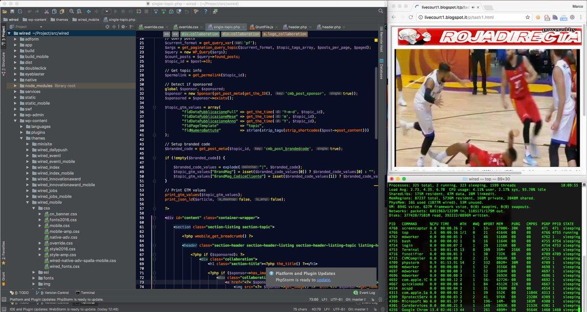 Pair programming: #php #wordpress #rojadirecta #fiba italy vs germany #EuroBasket2017<br>http://pic.twitter.com/dk2YkkPfSK
