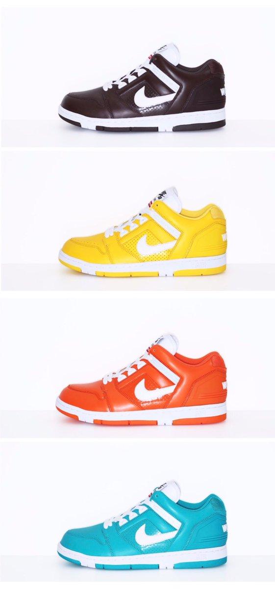 Heated Sneaks @HeatedSneaks. Supreme x Nike SB Air Force 2 drops ...