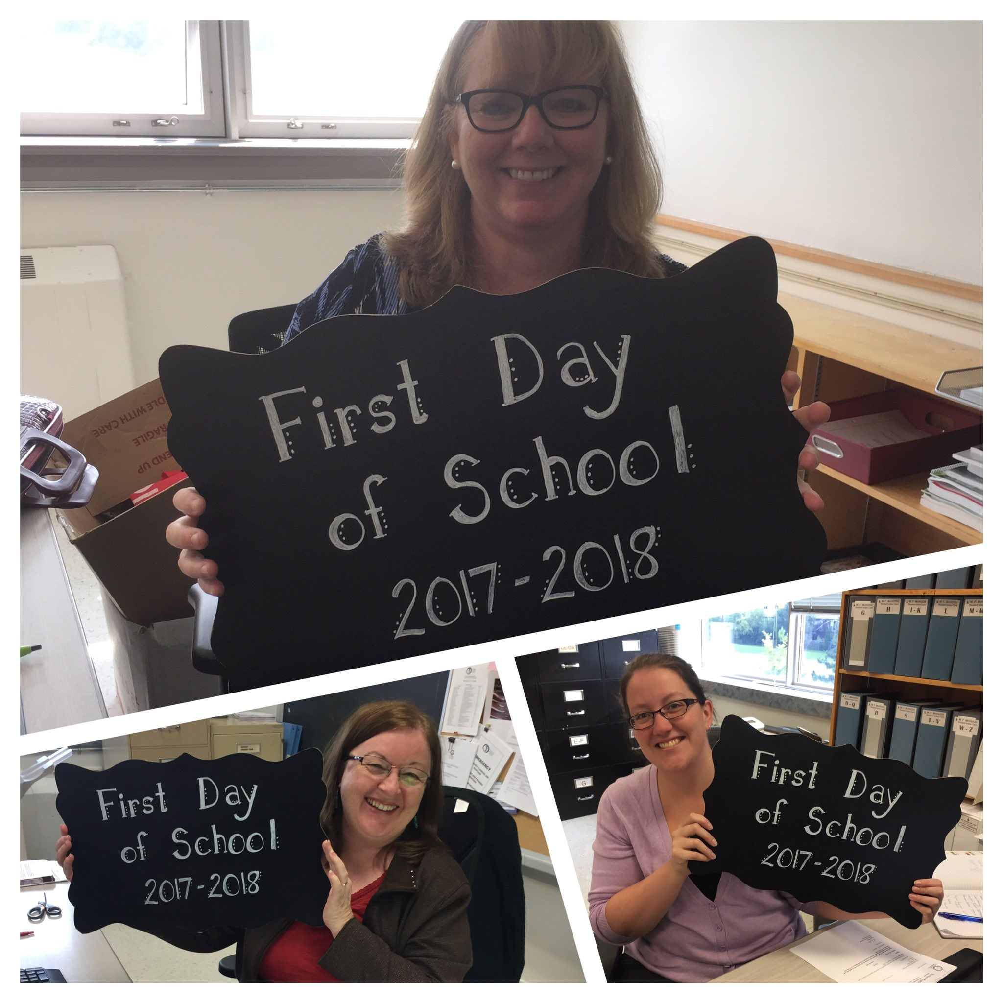 @McHughEduCentre staff are ready for the first day! #ocsbfirstday https://t.co/IRLI6qHR63