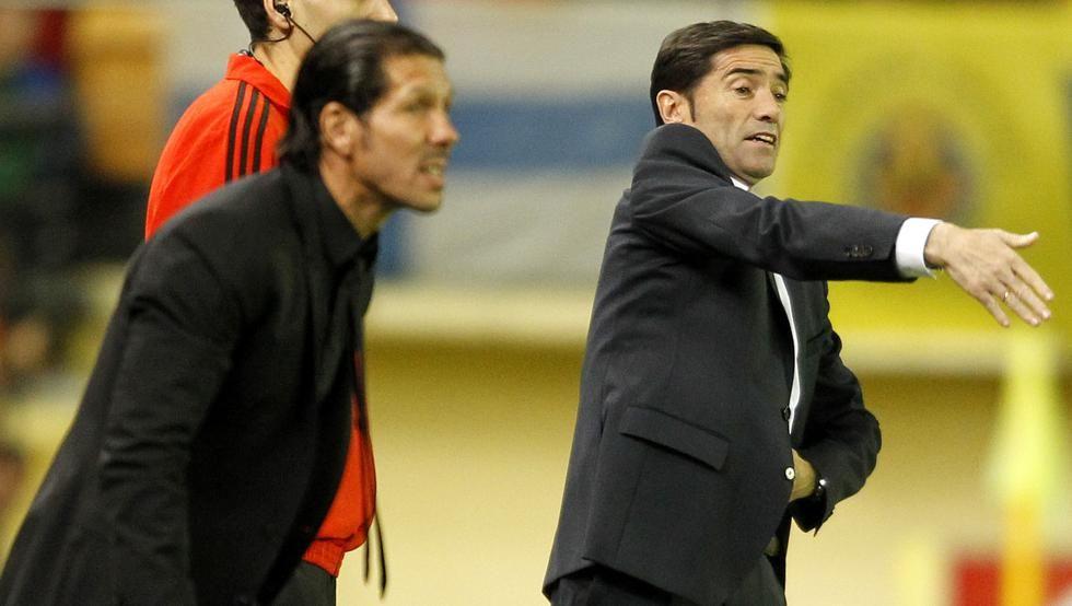 Marcelino, técnico del próximo rival del Atlético, la Némesis de Simeone. #Atleti #LaLiga https://t.co/Y2GKAhdpae