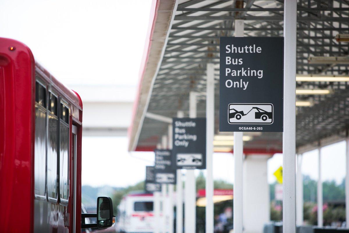 Atlanta Airport On Twitter Effective 0906 North Hotel Parking