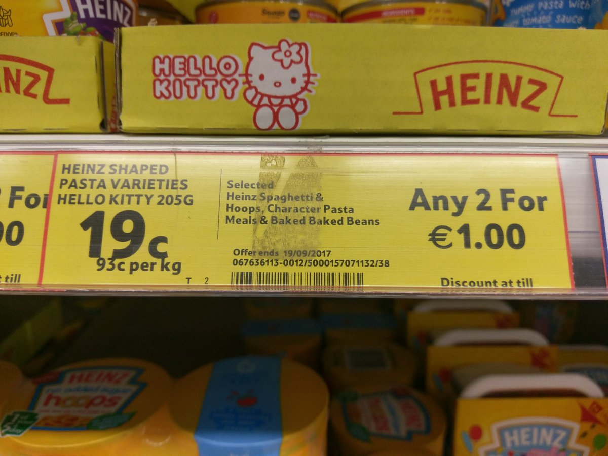 @TescoIrl not sure the multi-buy is the...