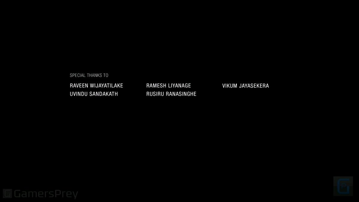 HOLY SHIT ALL LANKANS! UNCHARTED: THE LOST LEGACY END CREDITS. #lankanpride https://t.co/NCayQ5Har3