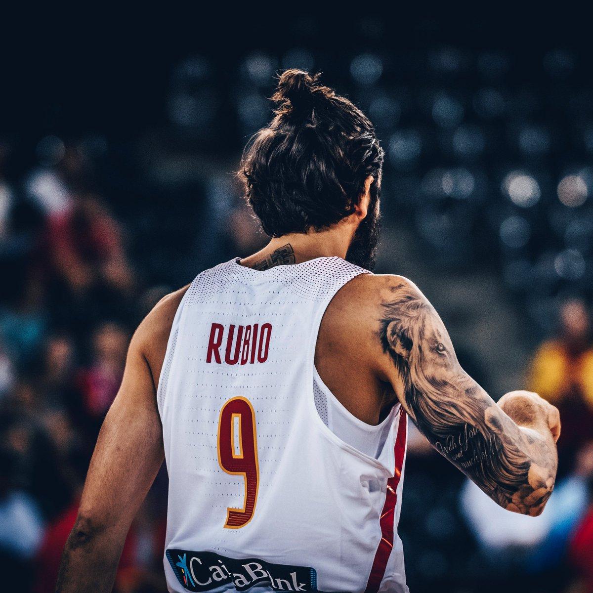 Fiba basketball on twitter rickyrubio9 39 s new look for Ricky rubio tattoo