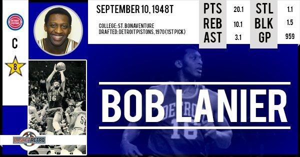 Happy birthday Bob Lanier