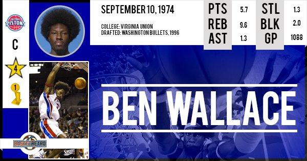 Happy birthday Ben Wallace