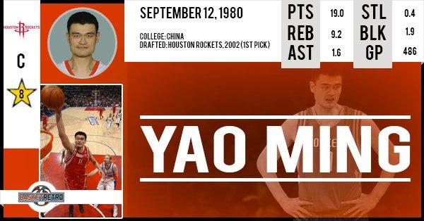 Happy birthday Yao Ming