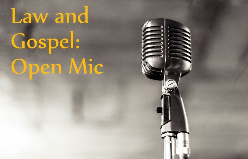 Never know what you&#39;ll hear on #OpenMicFriday with Pastor Tom Baker! #LawAndGospel  https:// buff.ly/2wFTebr  &nbsp;  <br>http://pic.twitter.com/fUQZcR4Lvt