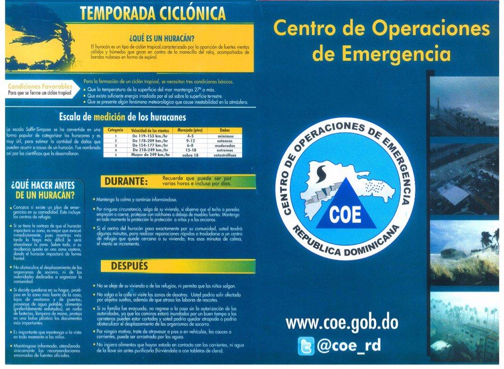 Que hacer antes, durante y después de un huracán, #COEOrienta #COEduca #HuracanIrma https://t.co/JglThtQl7h