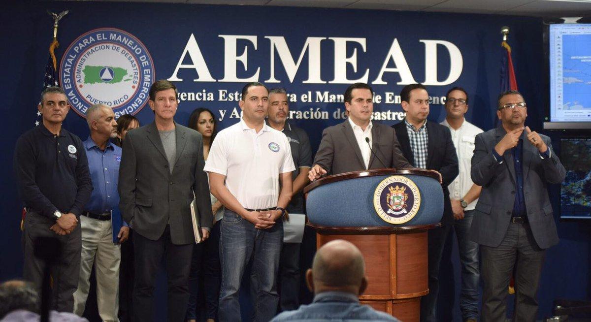 Gobernador da el Lunes libre por el paso del huracan Irene