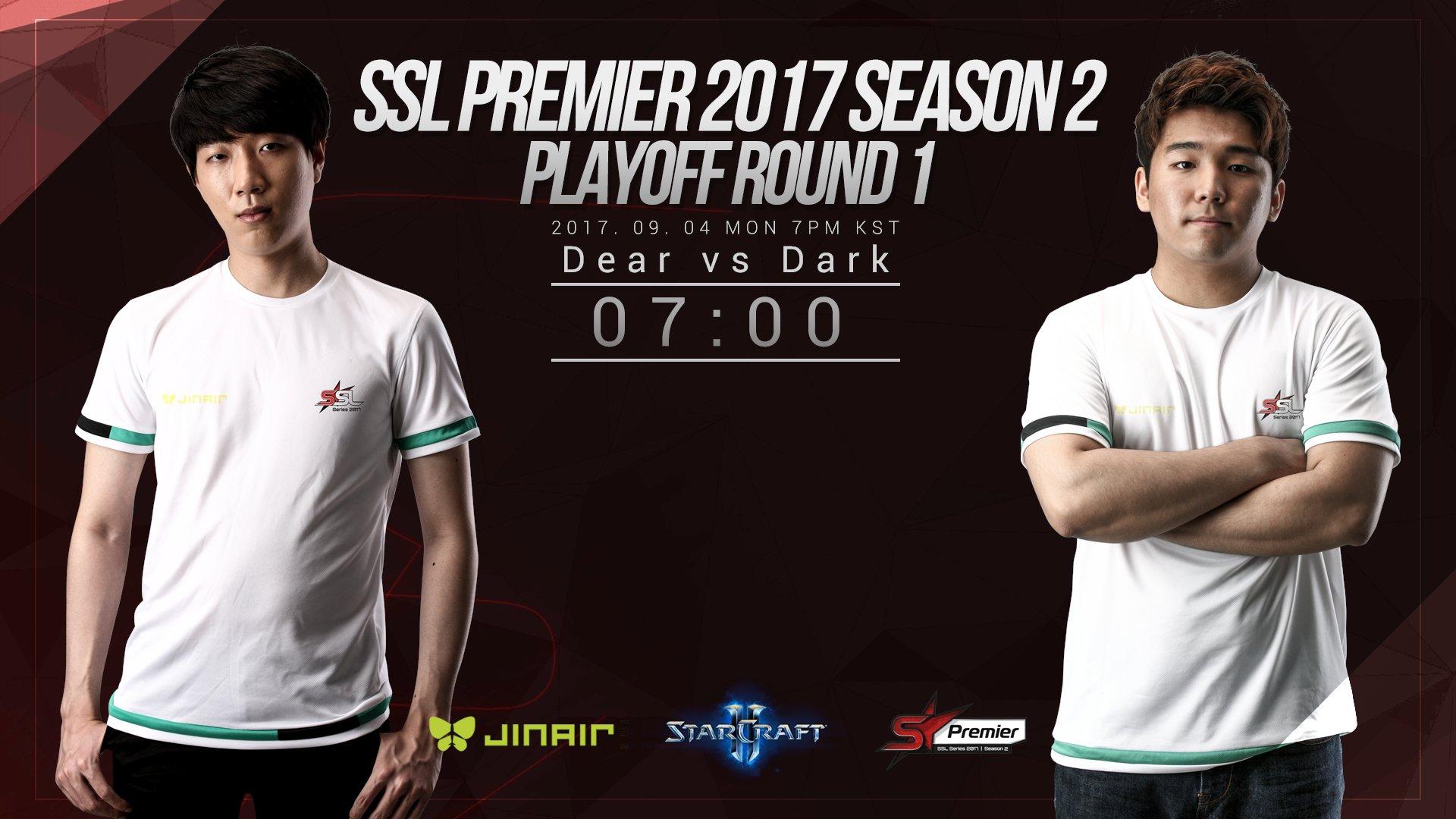 2017 SSL Premier 2. szezon rájátszás: Dear vs Dark