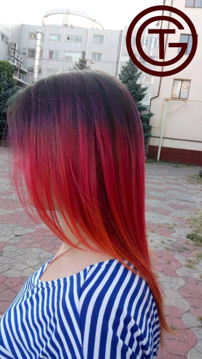 пиксель окрашивание волос фото