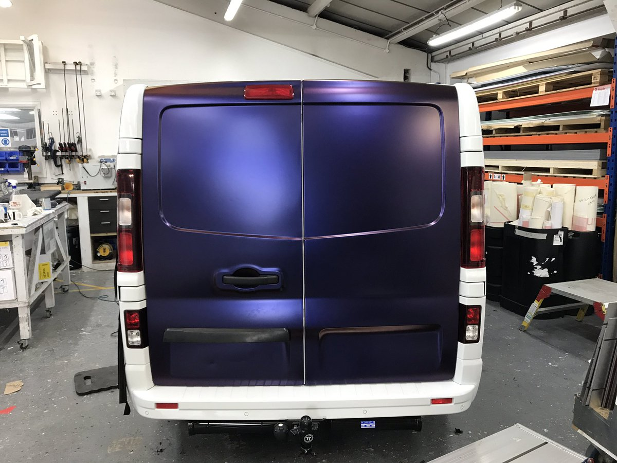 """Shaun Winfield on Twitter: """"Can't wait to get my new van from @Reflexvans vinyl wrapped by @ReadeSigns vinyl supplied by @europointco in @AveryDennison ..."""