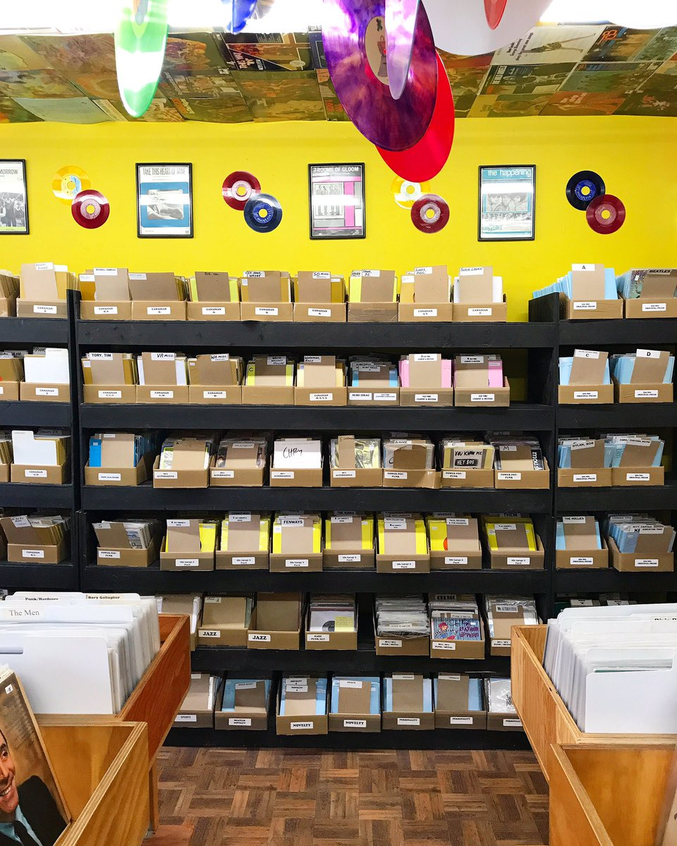 Independent record shops