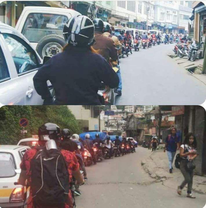 Traffic discipline in #Aizawl, #Mizoram! https://t.co/59LRYxblpf