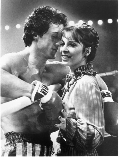 Inspirational - Sylvester Stallone (Rocky Balboa) &amp; Talia Shire (Adrian Pennino) 1976 #Sylvesterstallone #TaliaShire #Rocky #RockyBalboa<br>http://pic.twitter.com/q6AGndS47S