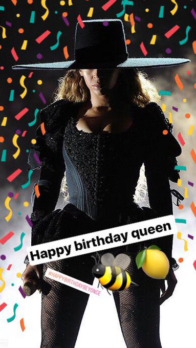 Happy birthday my queen