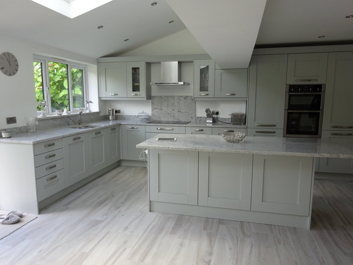 Swinsons Masonry Ltd On Twitter Himalayan White Granite Fitted In This Lovely Kitchen