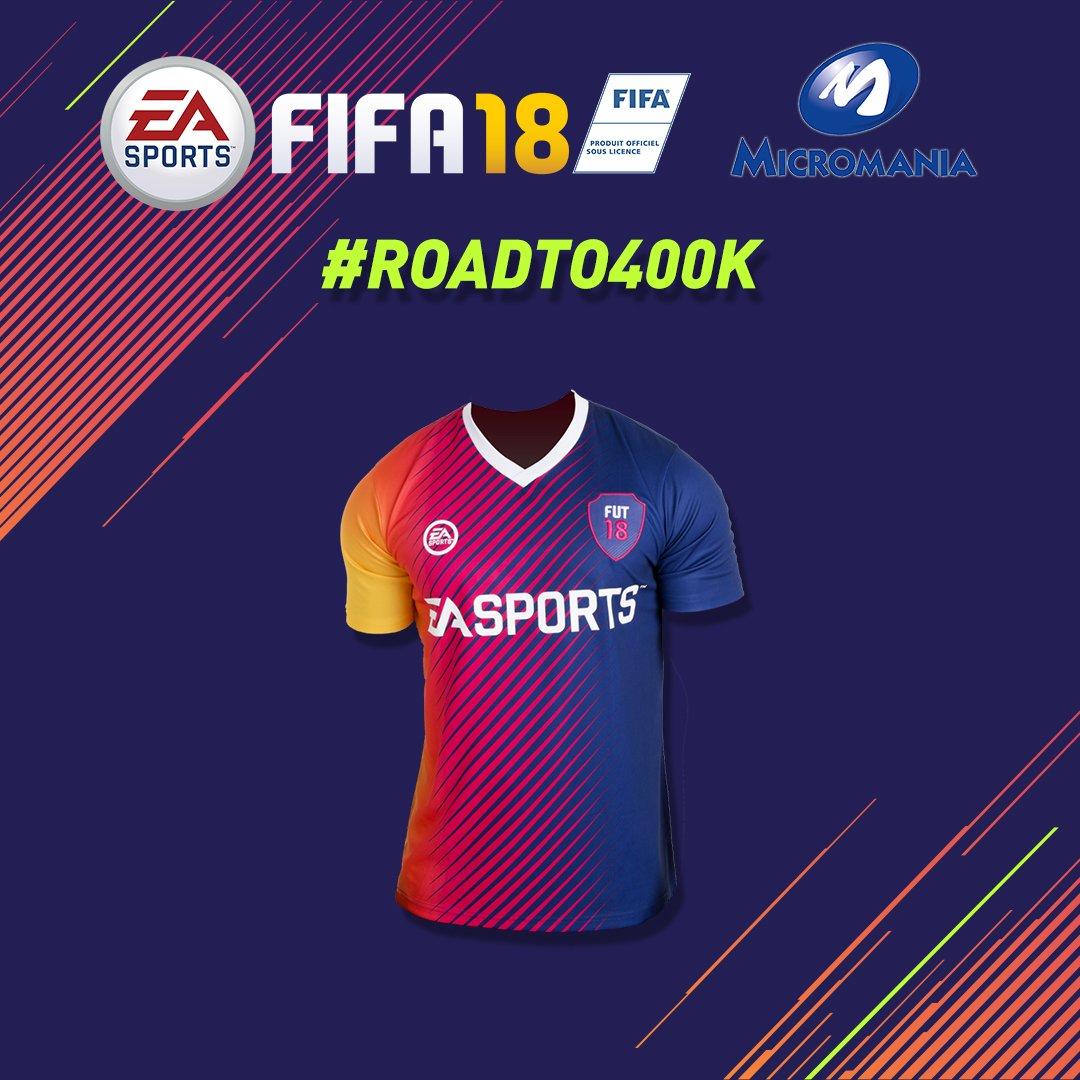 Vous avez dévoilé le 2ème lot #RoadTo400K ! Nouvelle étape: #RT #Follow @EA_FIFA_France &  pou@Micromania_Frr découvrir le 3ème lot! #FIFA18