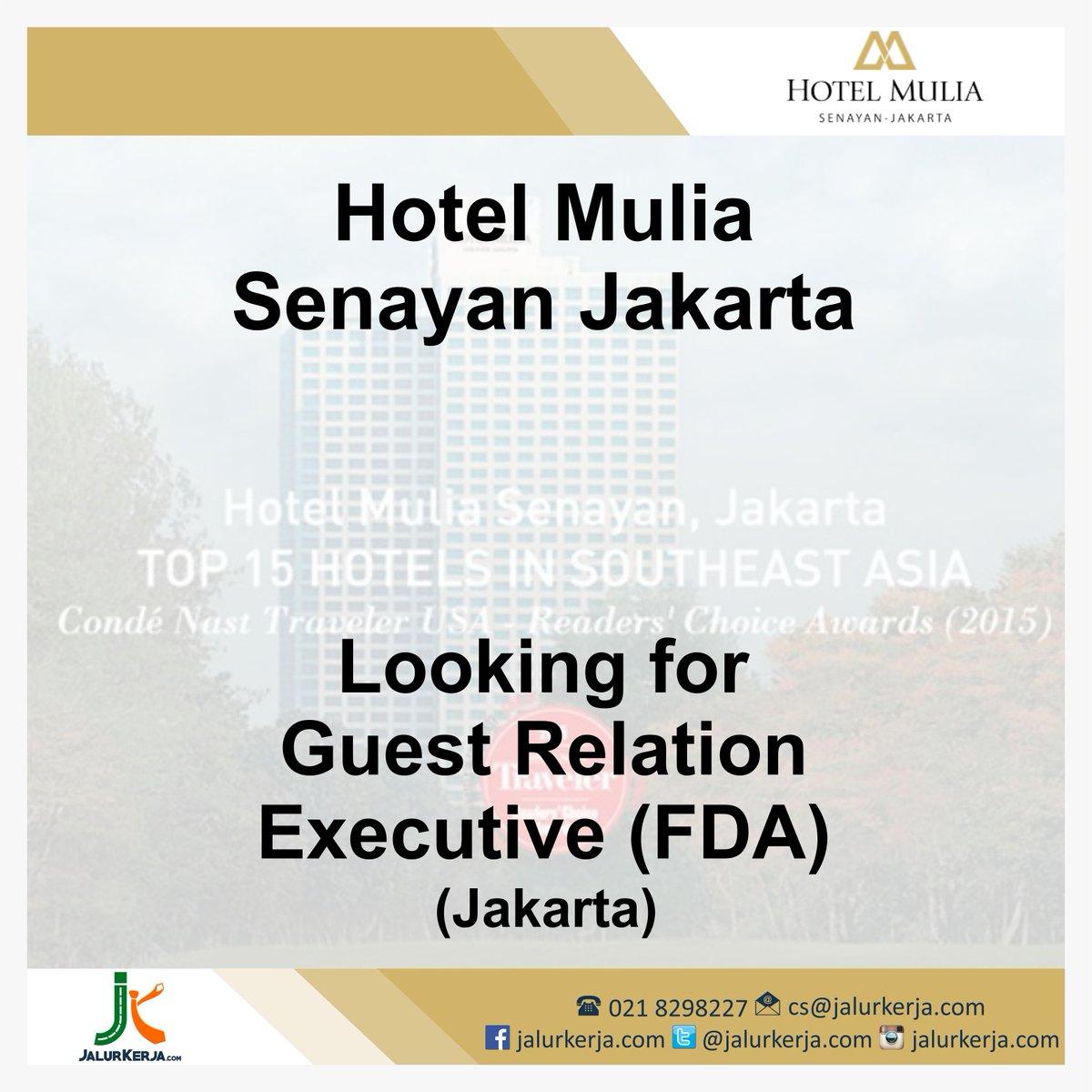 Lowongan Kerja Hotel Jakarta Like And Share