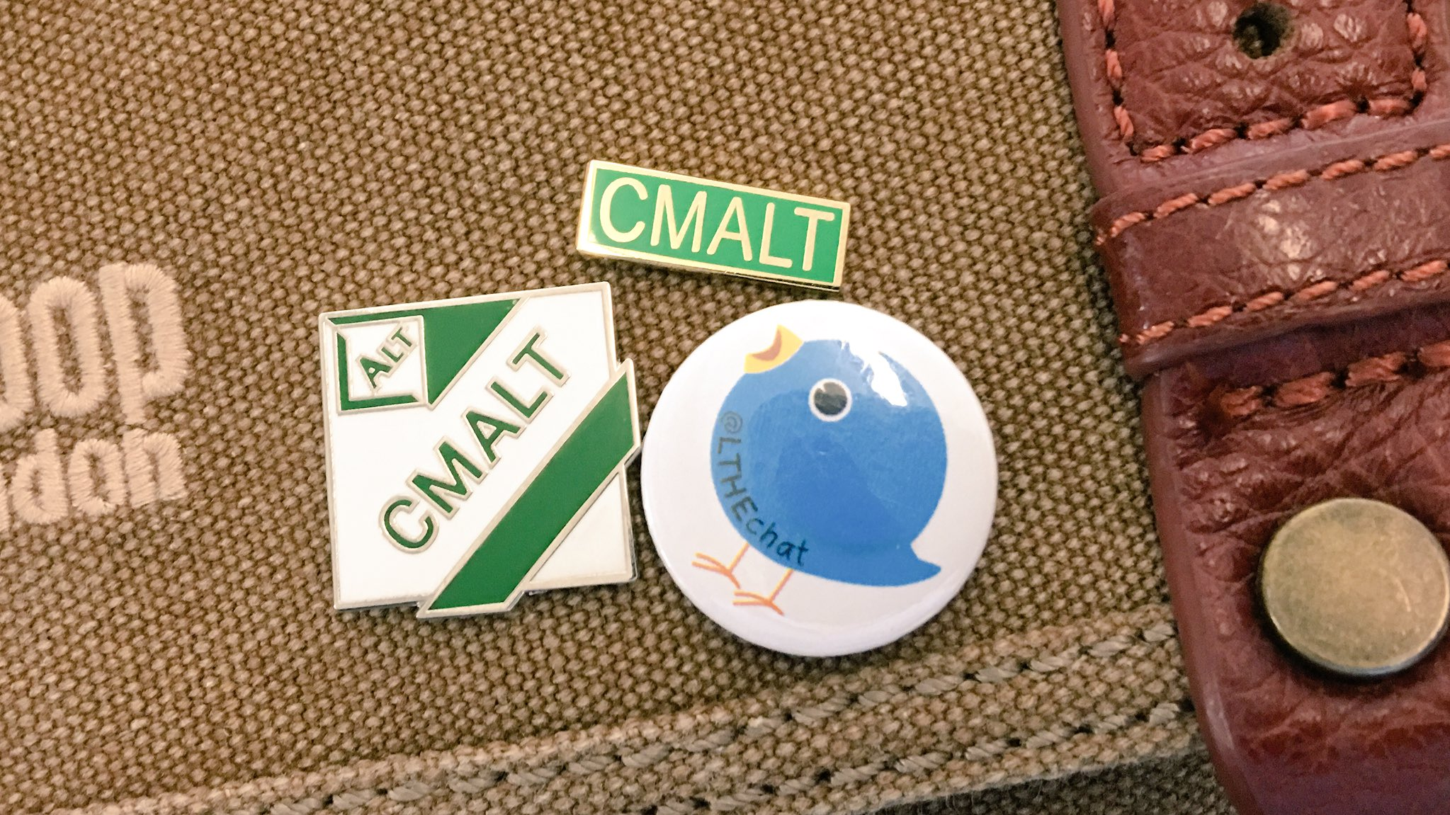 All badged up for #altc #cmalt #LTHEchat Any more for the collection... https://t.co/RwpwqM6uwB