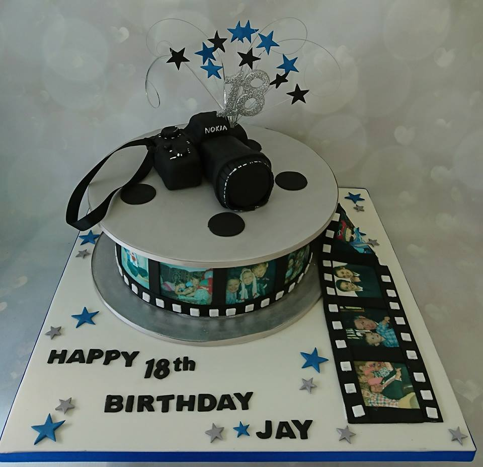 A Cake For You On Twitter Happy 18th Jay Camera Photoreal