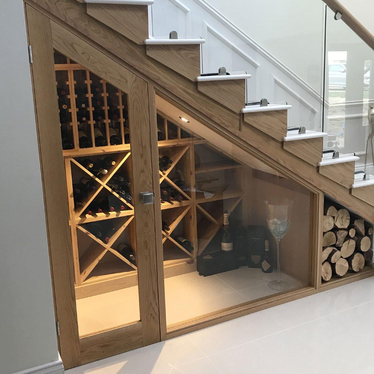 Bespoke Under Stairs Shelving: Wineware (@WinewareUK)