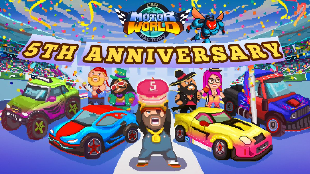 Motor World Car Factory >> Oh Bibi Games On Twitter Happy Birthday Motor World Car